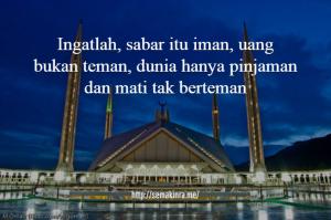 Kata-Kata Mutiara Islami Penyejuk Qalbu