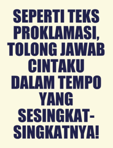 Status Gombal BBM